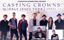 Casting Crowns 'Only Jesus' Tour