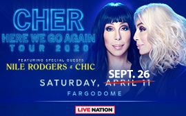 Cher - POSTPONED TO 9/26/2020
