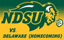 NDSU Football vs. Delaware (Homecoming)