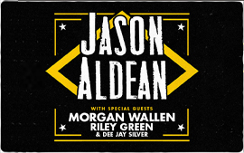 Jason Aldean 'We Back Tour'