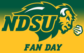 NDSU Fan Day Presented by Midco August 16 at Gate City Bank Field
