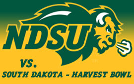 NDSU Football vs. South Dakota (Harvest Bowl)
