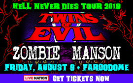 Twins of Evil: Rob Zombie & Marilyn Manson 'Hell Never Dies Tour' 2019