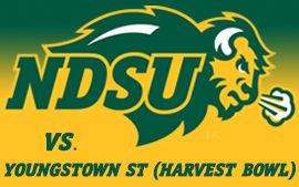 NDSU Football vs. Youngstown State (Harvest Bowl)