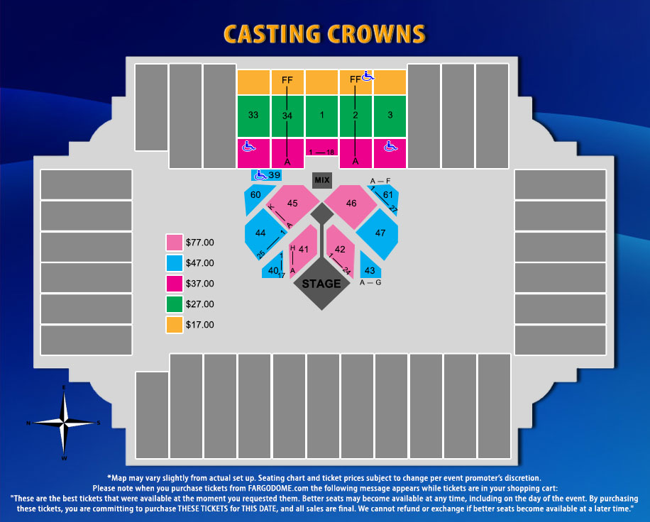 Casting-Crowns Map2019