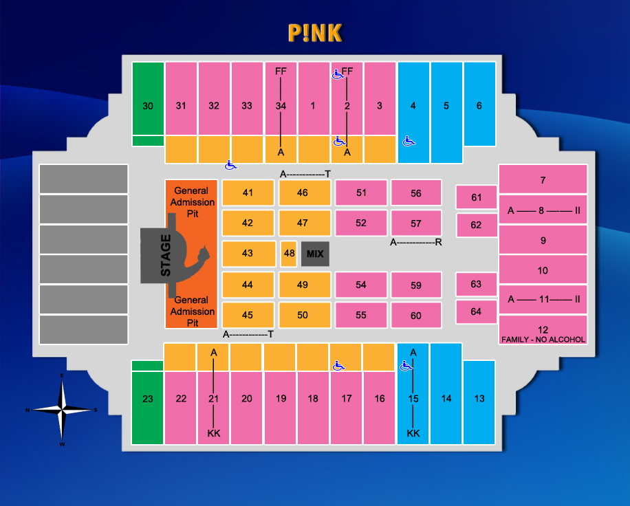 Fargodome Seating Chart Related Keywords Amp Suggestions